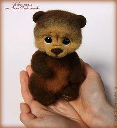 Купить Медвежонок Балу - коричневый, медведь, медвежонок, мишка, мишка ручной работы, мишка в подарок