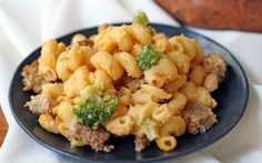 This mac and cheese casserole is a delicious and easy-to-make dinner.