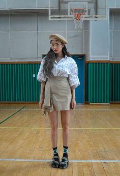 korea daily style #stylenanda2017 #ParkSora style