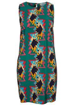 Flerfärgad klänning från American Retro @ Zalando