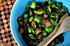 Caramelized Balsamic Glazed Brussels Sprouts | Tasty Kitchen: A Happy Recipe Community!    These were good!