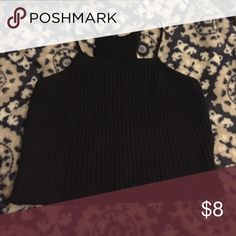 Cropped Tank Top ribbed cropped tank top • great condition, no rips or stains • thick sweater material • tagged as brandy for exposure, im unsure of the actual brand • reselling because it didn't fit right • questions? don't hesitate to ask • i discount bundles and ship quickly Brandy Melville Tops Tank Tops