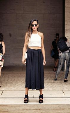 Lindsey in the Nasty Gal Kayla Culottes in Black || Get the pants: http://www.nastygal.com/clothes-bottoms-pants/nasty-gal-kayla-culottes?utm_source=pinterest&utm_medium=smm&utm_term=ngdib&utm_content=nasty_gals_do_it_better&utm_campaign=pinterest_nastygal
