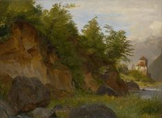 Landscape with a Castle on the River Etsch | The Morgan Library & Museum