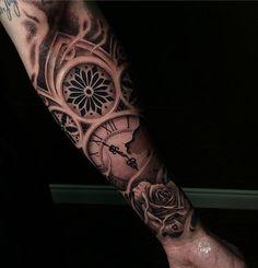 Broken clock forearm tattoo - 100 Awesome Watch Tattoo Designs  <3 <3