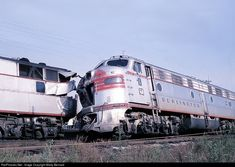 RailPictures.Net Photo: CBQ 9987A Chicago Burlington & Quincy Railroad EMD E9(A) at Montgomery, Illinois by Marty Bernard