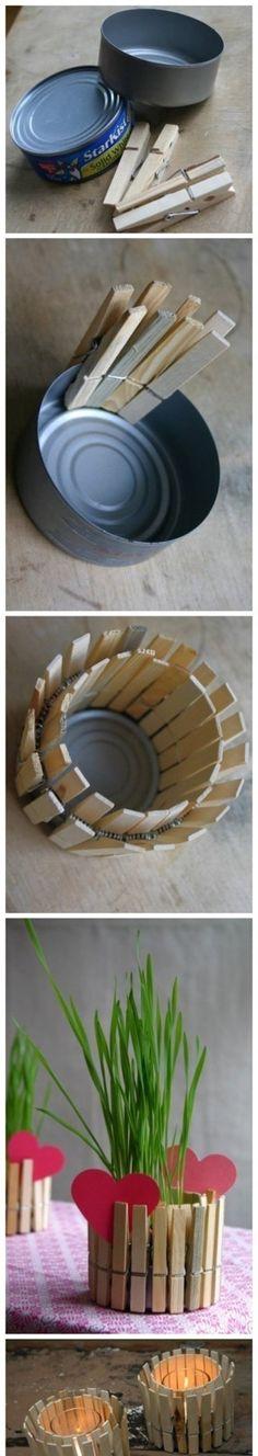 Veja mais em http://www.garotacriatividade.com/2012/03/05/ideia-para-reutilizar-prendedores-de-roupa-e-latinhas/