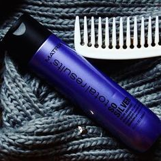 This weekend, don't forget to recommend Total Results So Silver Shampoo to your blonde clients looking to cool down their yellow/warm tones! It will be their new best friend! Matrix Total Results, Matrix Hair, Salon Ideas, Don't Forget, Yellow, Blue, Blonde Hair, Salons, Confidence