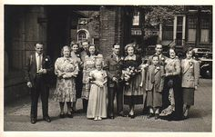 My parents marriage Amsterdam 1948