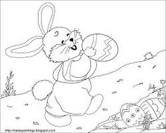 Cute Easter Coloring Pages ... - Pesquisa Google