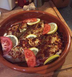 Gemarineerde hot fish (dorade)  🍽 Klaar voor in de oven