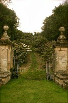 Gates at Castle Howard, North Yorkshire, England.