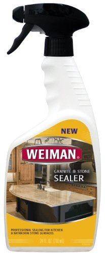 Weiman Granite And Stone Sealer/Trigger, 24 Ounce By Weiman. $29.99. Cleaning  Granite CountertopsOil ...