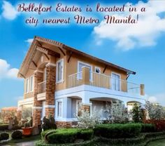 Do you want to travel to Metro Manila and back from your home? Well, we've got an excellent offer! Bellefort Estates is located just outside of Metro Manila in Bacoor, Cavite. When you talk about Cavite, Bacoor is known as the province's portal to the metro, and one if its fastest-growing key cities. You can have a truly suburban life at Bellefort Estates, and yet still be close enough to Metro Manila. www.bellefortcavite.com