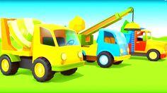 ПЕСЕНКИ для детей про МАШИНКИ! «Машины, машины, колеса и кабины...» Музы...