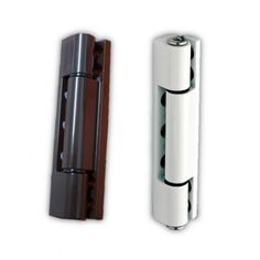 UPVC Butt Door Hinge 115mm - Angled & Flat - White one is more the type I'm looking for for new door made of upvc. Much slimmer than flag hinge such as Sheffield Window Centre ones...