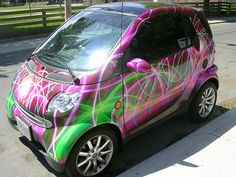 smart car by tinyjudas, via Flickr