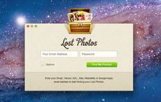 Lost Photos - Mac and Windows desktop app for discovering lost photos in your email account