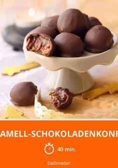 Karamell-Schokoladenkonfekt - smarter - Zeit: 40 Min.   eatsmarter.de
