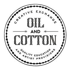 Oil & Cotton craftery with fun classes from basic sewing to oil painting to making cups out of beer bottles
