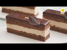 Karamelový lískový oříšek (Hazelnut Praline) čokoládový mousse dort ASMR - YouTube