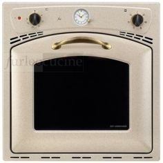 Nardi forno incasso a gas con grill elettrico avena fr4mbjb - Forno incasso a gas ventilato ...