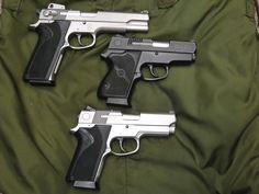 .45 Single Stacks: S&W 4506-1, CS45 and 4553TSW.