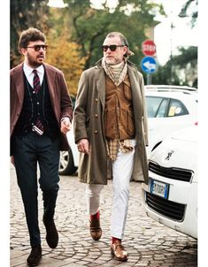 Alessandro Squarzi - Probably one of his best outfits.