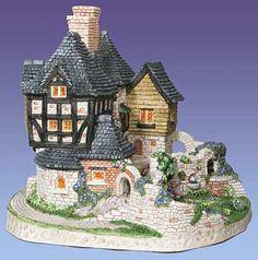 David Winter Cottages - Secret Garden