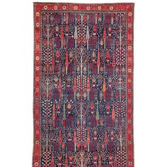 Northwest Persian Gallery-sized Carpet | From a unique collection of antique and modern persian rugs at http://www.1stdibs.com/furniture/rugs-carpets/persian-rugs/