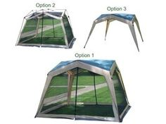 Spring and camping go together. 3 in 1 Shelter, tent, and canopy.