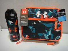 cd7880025e Under Armour Insulated Lunch Box & Vacuum Insulated Thermos Orange  Black Aqua #Underarmour #