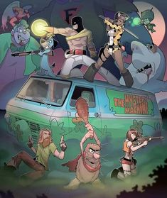 Old School Cartoons, Retro Cartoons, Classic Cartoons, Cool Cartoons, Hanna Barbera, Cartoon Crossovers, Cartoon Characters, Book Characters, Comic Books Art