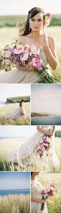 spring inspired bridal fashion