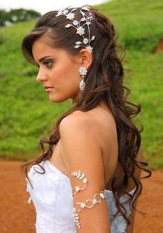 vestido de casamento bracelete para noiva