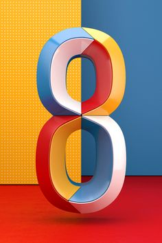 Numbers made for the second edition of 36 days of type