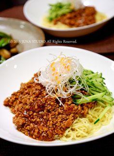 ジャージャー麺 by JUNA(神田智美)   レシピサイト「Nadia   ナディア」プロの料理を無料で検索 / 炸醤麺…朝鮮ではなく支那料理です。何でもパクるから…