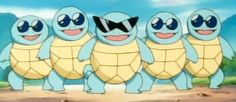No matter how cool you think your squad is, you'll never be as cool as the Squirtle Squad #pokemon #pokemongo