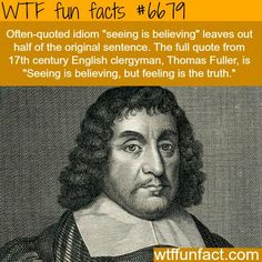 WTF Fun Facts is updated daily with interesting & funny random facts. We post about health, celebs/people, places, animals, history information and much more. New facts all day - every day! The More You Know, Look At You, Good To Know, Famous Quotes, Me Quotes, Daily Quotes, Shining Tears, Wtf Fun Facts, Random Facts