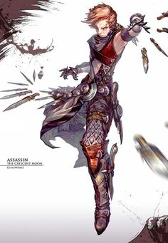 Hyojin Ahn has been a concept artist for Guild Wars 2 developer, ArenaNet, since 2008. His art for the game has been surfacing throughout the past few years, but it's his phenomenal character work that will get your attention.  Hyojin Ahn resides in Seattle WA United States.