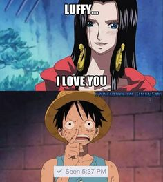 Luffy the man! :D