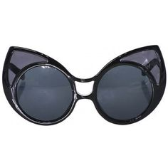 Rina Cat Ears Sunglasses via Fabuglitz Boutique. Click on the image to see more!