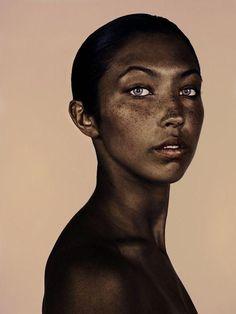 Znalezione obrazy dla zapytania freckles indian