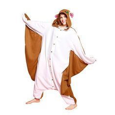 Flying Squirrel Costume Adult, 42€, now featured on Fab.