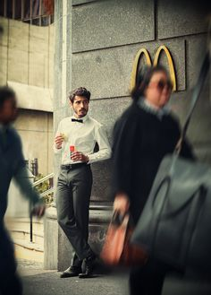 you will never find a more attractive picture of someone eating McDonalds. No argument.