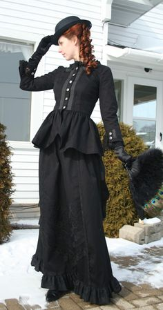"Recollections ""Misha"" dress: #Victorian daywear walking dress #em'ly"