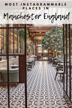 Guide to the best resorts and steps to do in The united kingdom. Maps, travel ideas and even more. Hotel California, Deco Restaurant, Restaurant Design, Brasserie Paris, Manchester Travel, Manchester England, Europe Travel Tips, Travel Pics, Travel Guides