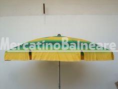 Ombrelloni professionali per spiaggia in alluminio  CON COPERTURE NUOVE Q.TA' 24 EURO 70.00 - Mercatino Balneare ombrelloni 110/10 e 100/10 palo alluminio baionettan   3 da 100/10 con palo h. 140n 15 da 110/10 con palo h. 140n   6 da 100/10 con palo h. 130 tessuto nuovo tempotest  colore sfumato verde giallo prezzo cadaunoi.v.a e trasporto esclusi Quantità:0 Prezzo €70.00+iva  https://www.mercatinobalneare.it/annuncio/ombrelloni-professionali-per-spiaggia-in-allumini