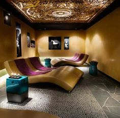 Buddha Bar Spa So Relaxing Spa Design, Design Ideas, Dream Gym, Backdrop Design, Clinic Design, Rest And Relaxation, Treatment Rooms, Escape Room, Erika