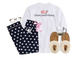 """""""one day we will never have to say goodbye, only goodnight."""" by kaley-ii ❤ liked on Polyvore featuring Vineyard Vines, UGG Australia and Prism"""